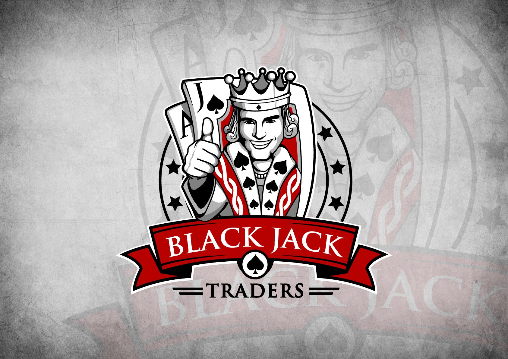 Re-imagine the Blackjack Traders logo
