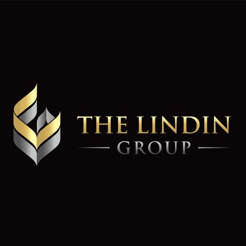 logo design for The Lindin Group, a woman-owned company on technology