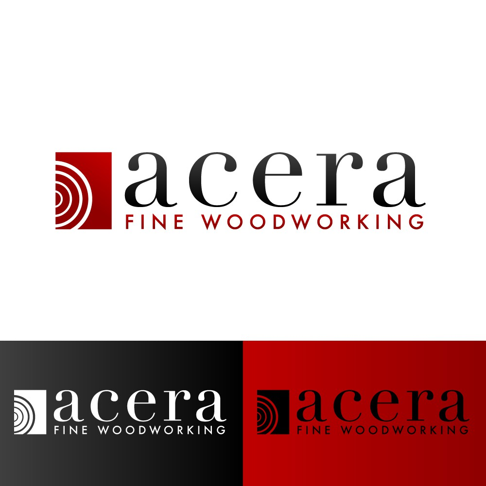 Logo for Acera Fine Woodworking