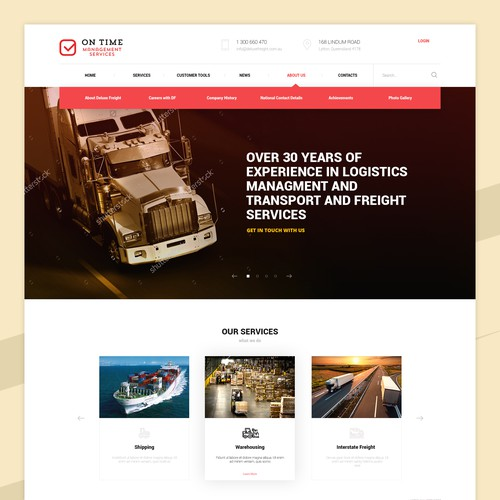 Re-branding logistics services
