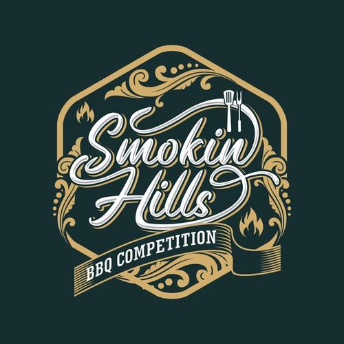 Smokin hill logo design
