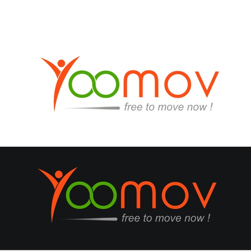 Create the logo and business cards of Yoomov