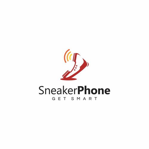 Smart combination of sneaker and phone.