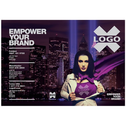 A girl power cover for Logo X