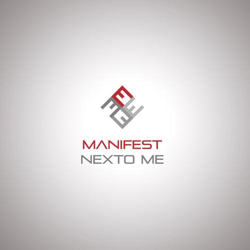 Logo for down tempo hip hop band Manifest Nexto Me