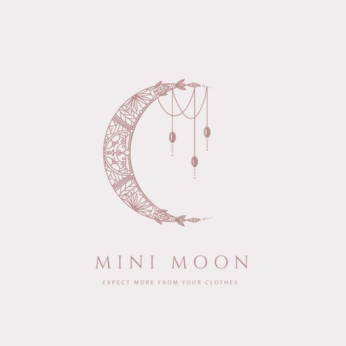 Logo for Mini Moon clothes brand