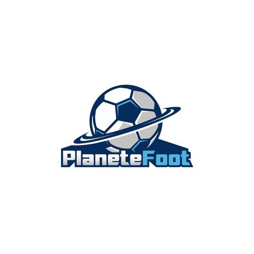Football website logo