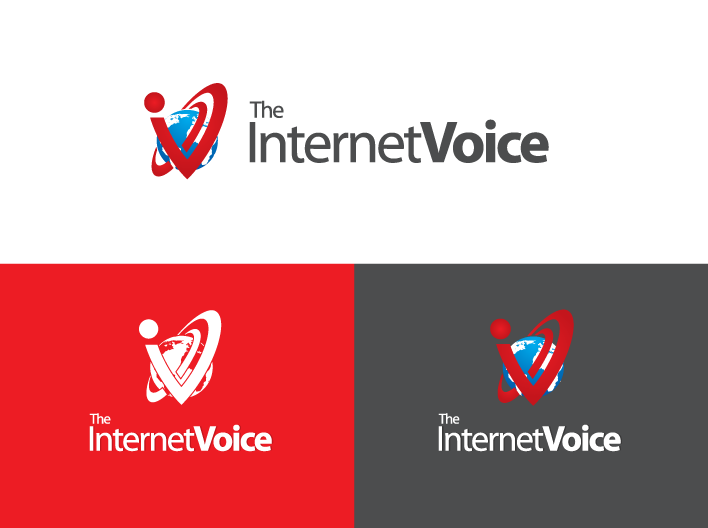 Create the next logo for The Internet Voice (The Internet's first Super PAC)