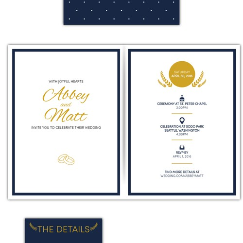 Wedding invitations design