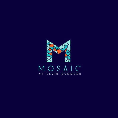 Mosaic logo for Levis Commons company