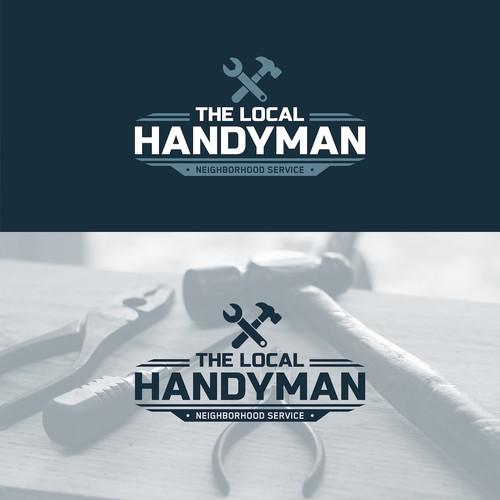Logo for local handyman
