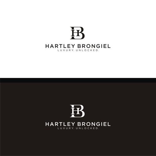 Bold logo concept for HARTLEY BRONGIEL.