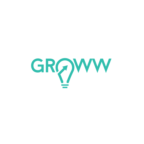 Logo design concept for GROWW
