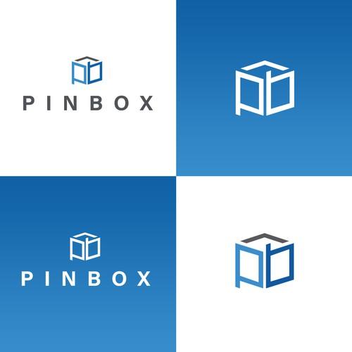 Minimal logo concept for Pinbox