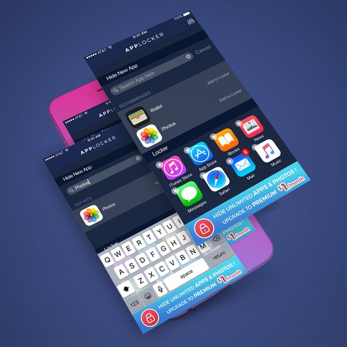Applocker App Concept