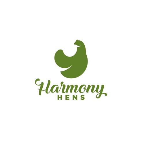 Bold logo for Harmony HENS