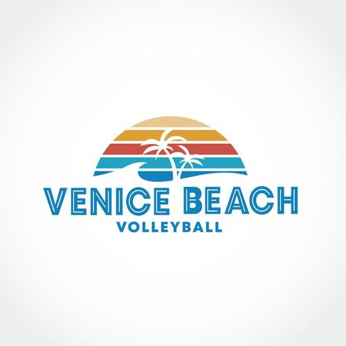 Logo for Venice Beach Volleyball