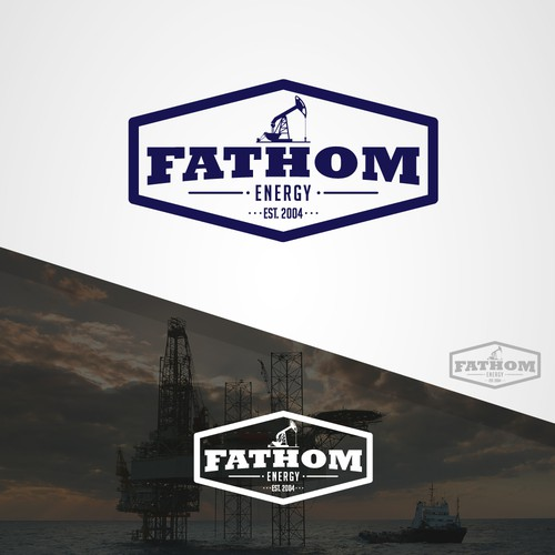 Fathom Energy Throwback/Vintage Logo