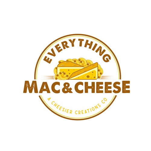 Logo for mac & cheese company