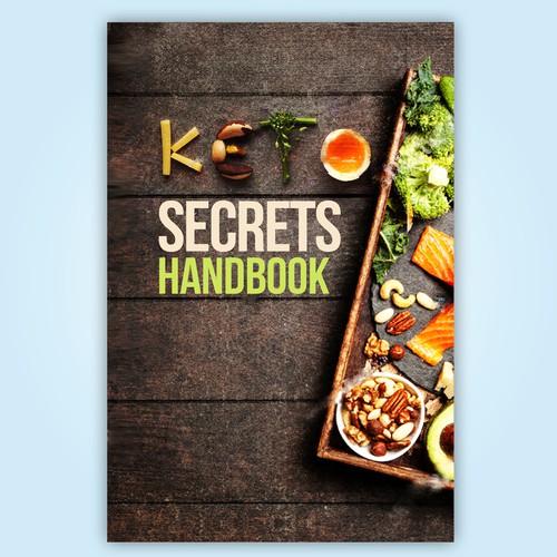 "Ebook Cover ""Keto Secret Handbook"""