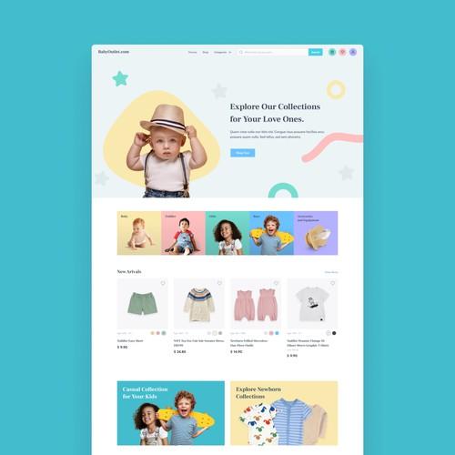 Baby Shop Ecommerce