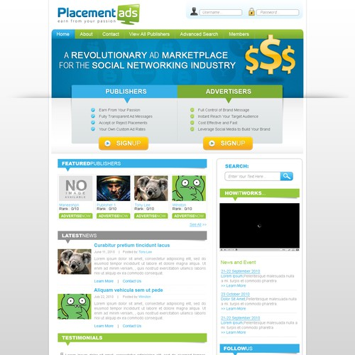 Marketplace web