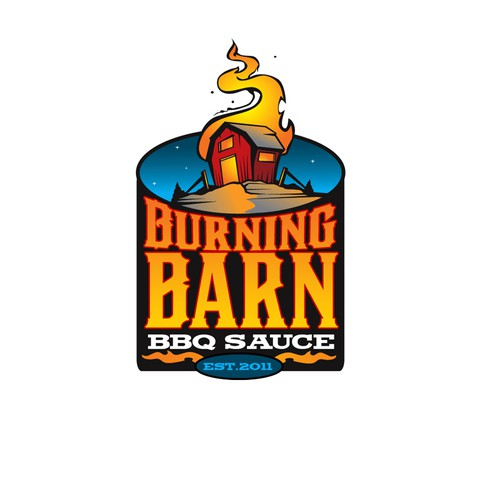 New logo wanted for Burning Barn BBQ Sauce