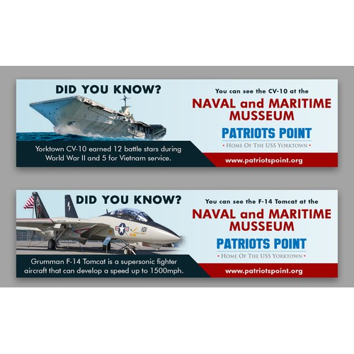 Billboard for the Naval and Maritime Musseum