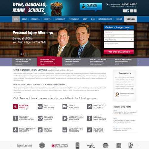New Law Firm Website Design