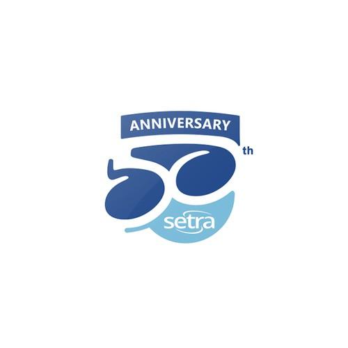 50th Anniversary logo for Setra™