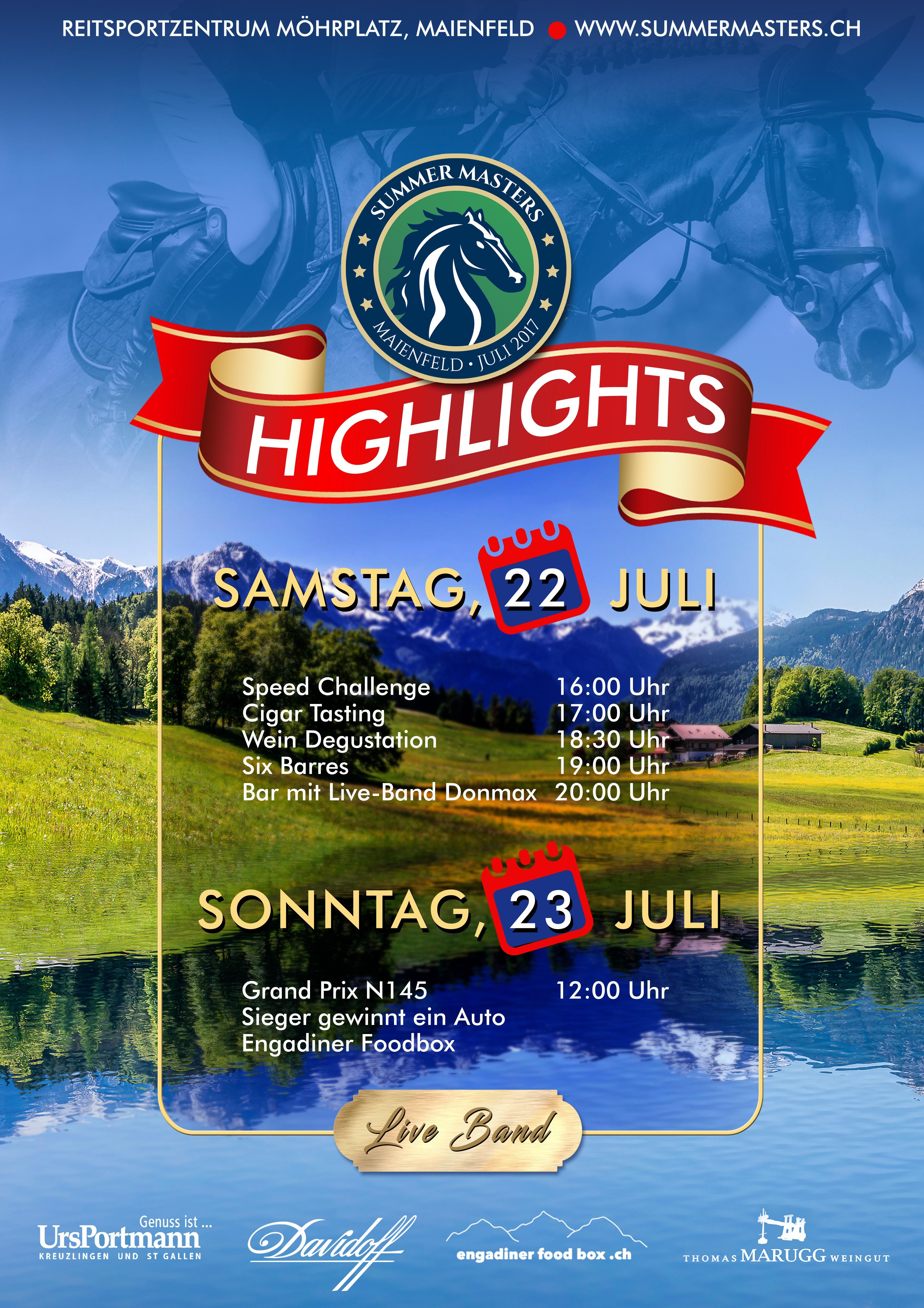 Summer Masters - Highlights