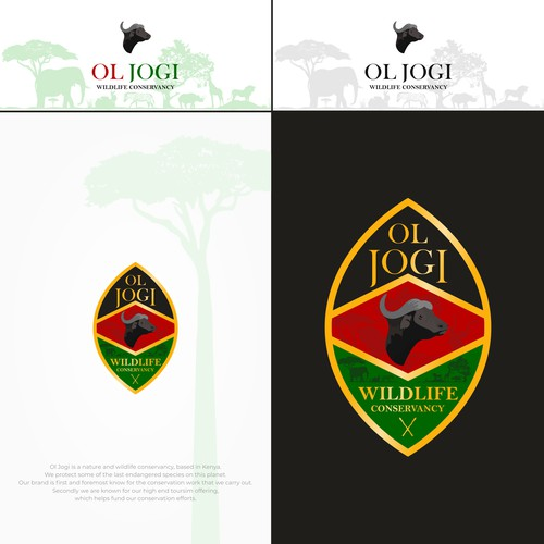 logo concept for wildlife conservancy