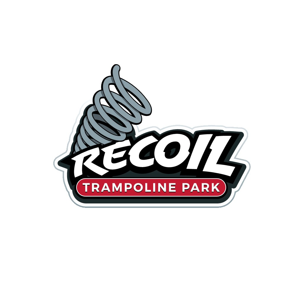 Spring a logo on us for Recoil Trampoline Park