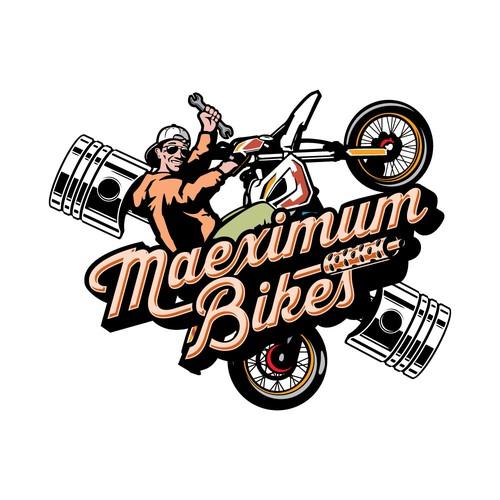 Maeximum Bikes logo