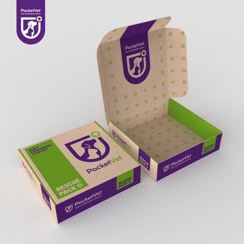 Packaging Design for Pocket Pet