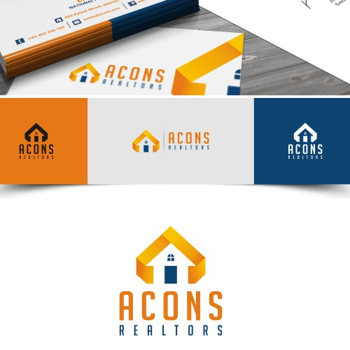 Help ACONS Realtors with a new logo