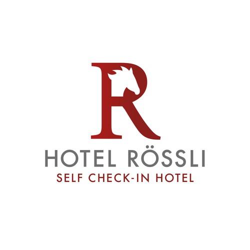Logodesign für Hotel Rössli