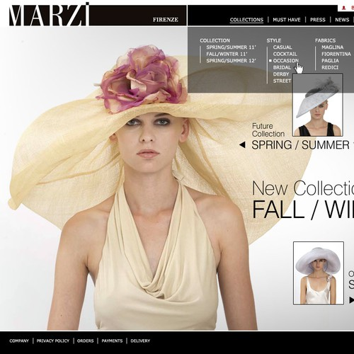 Luxury fashion e-commerce b2b & b2c website design