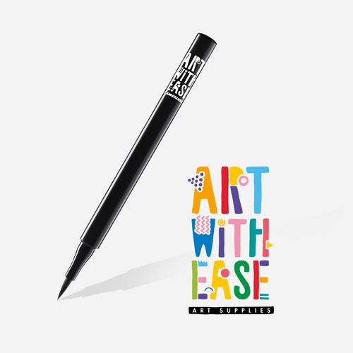 Logo concept for Art with Ease