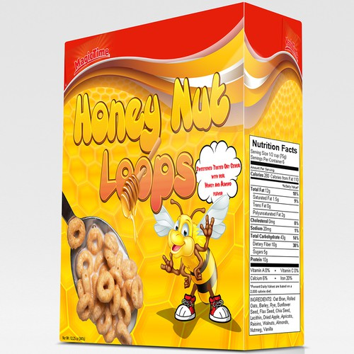 Cereal box concept for MagicTime
