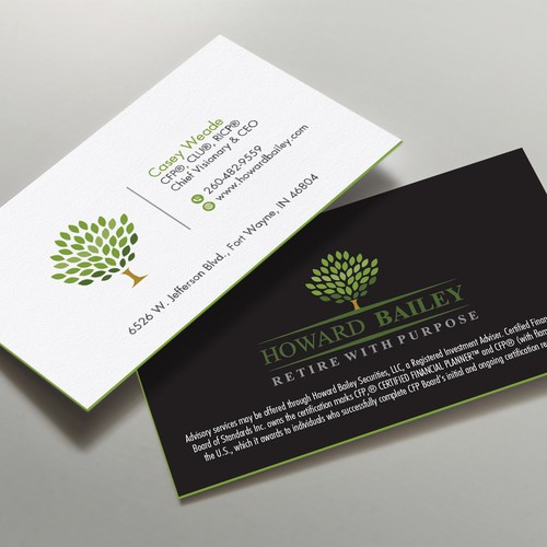 Modern & Sleek Business Card Design Needed