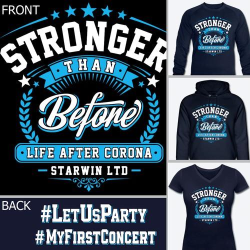 Winner Guaranteed: Corona Survivor-Shirt