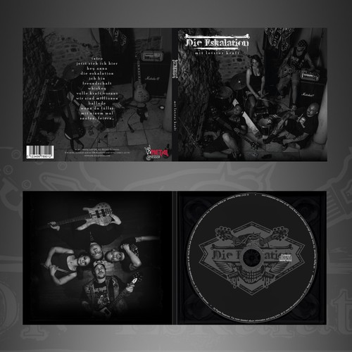 CD album artwork and booklet