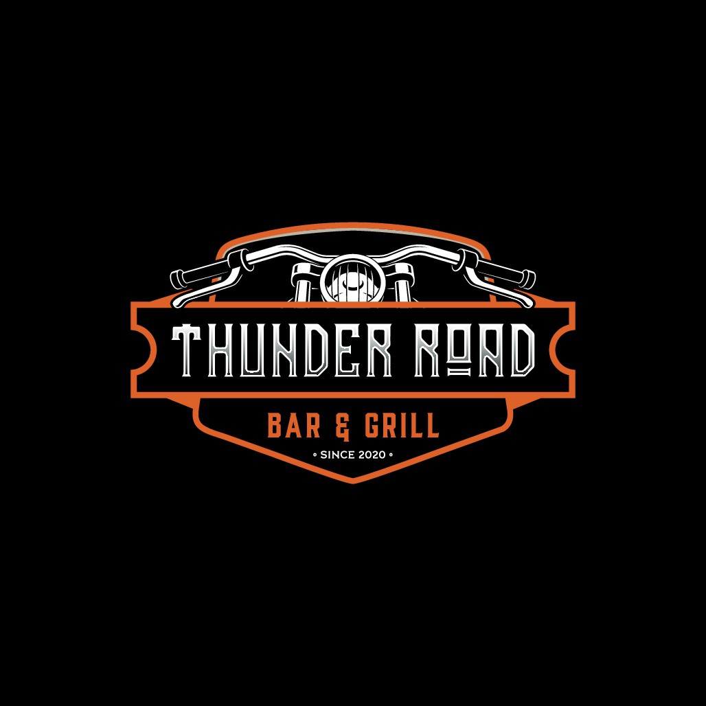 Bar & Grill with Heavy Motorcycle Theme