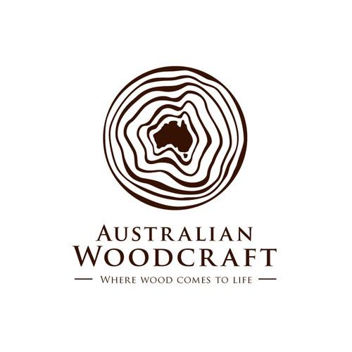 "Australian Woodcraft, ""Live the wood life"" - NEW LOGO DESIGN"