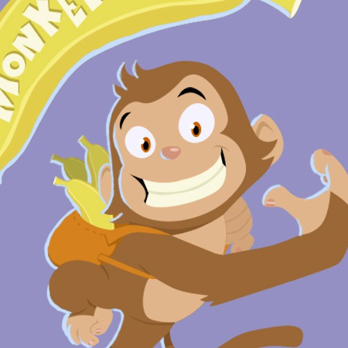 Fun Logo Design - Monkey Blitz