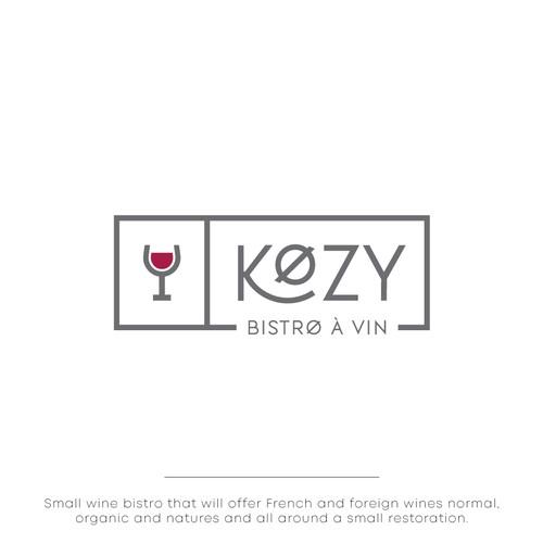 Logo for wine bistro.