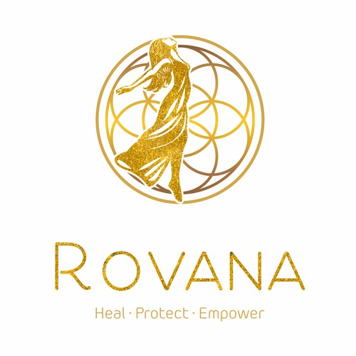 Luxury logo for Rovana