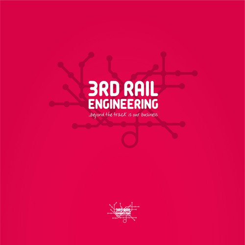 logo concept for railroad engineering co.