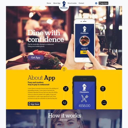 Restaurant app technology